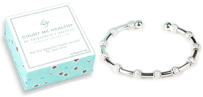 My Bridesmaid's Bracelet comes with its own distinct style of handcrafted, sterling silver beads (see below for Infinity circle (friendship bead) description). The jewelry is lightweight, and perfect to wear for everyday activities. Elegant, discrete and compliments almost any attire. Fits most wrist sizes (once on wrist, gently squeeze or open cuff for a perfect fit).