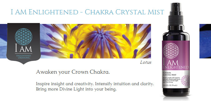 I Am Enlightened Chakra Crystal Mists