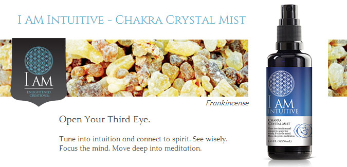I Am Intuitive Chakra Crystal Mists