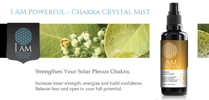 I Am Powerful Chakra Crystal Mists