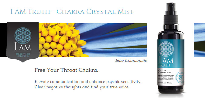 I Am Truth Chakra Crystal Mists