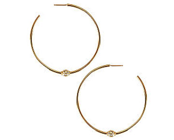 Earings - Briley Hoops Gold